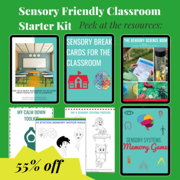 Sensory-Friendly Classroom Starter Kit (Digital Download)
