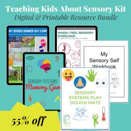 Teaching Kids About Sensory Starter Kit (Digital Download)