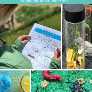 Sensory Science Ebook Volume 1 – Colors, Senses, Nature