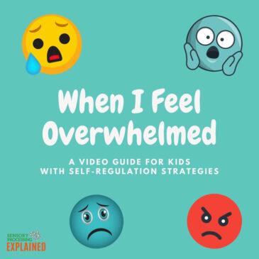 When I Feel Overwhelmed: Self-Regulation Strategies for Kids
